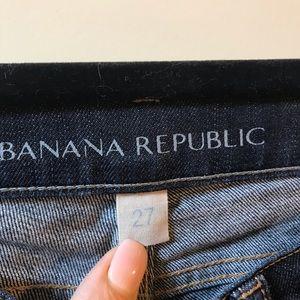 "Banana Republic jeans 27"" waist/ 30"" length"